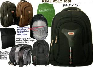 Tas ransel, tas laptop Real polo-1056