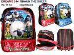 Tas sekolah anak, tas Ransel , tas karakter dreams 914 Shaun the sheep