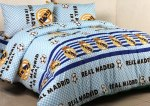 Sprei Bola Real Madrid Biru
