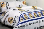 Sprei Bola Real Madrid Putih