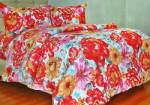 Sprei Motif Beauty Rose Merah