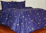 Sprei Motif Starry Night Navy